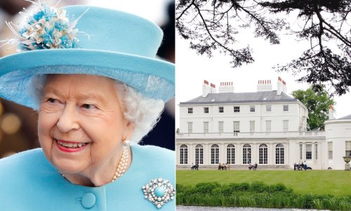 The Queen's home that she has never lived in where photography is banned