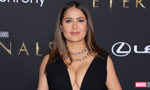 Salma Hayek's daughter Valentina, 14, is all grown up as she makes rare red carpet appearance