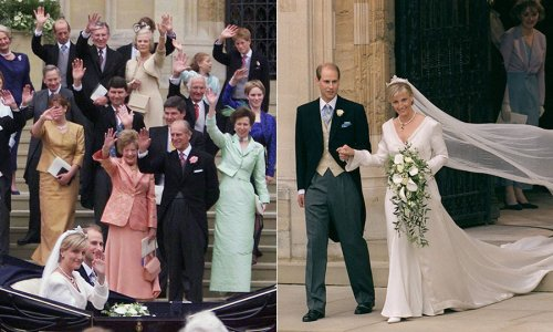 Looking back at Prince Edward and the Countess of Wessex's 1999 wedding - HELLO! Canada