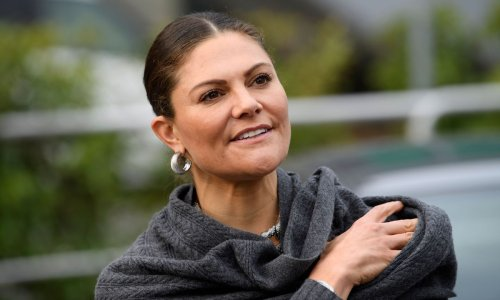 Sweden's Crown Princess Victoria just wore a cashmere co-ord we weren't expecting