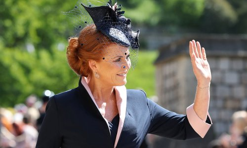 Sarah Ferguson had a very important role on Prince Philip's funeral day
