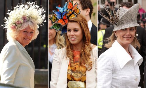 Most striking royal wedding hats: Sophie Wessex, Princess Beatrice & more