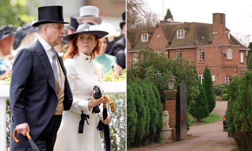 Sarah Ferguson ditched huge mansion to move back in with ex Prince Andrew