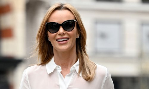 Amanda Holden shows us how to rock tweed in a modern way