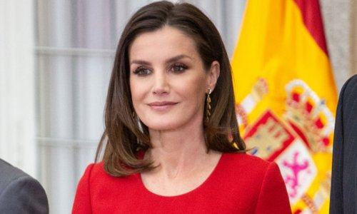 Queen Letizia wows royal fans in the most ravishing red dress