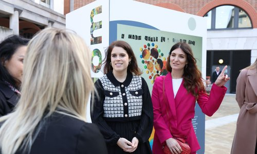 Princess Eugenie steps out for cause close to her heart in London