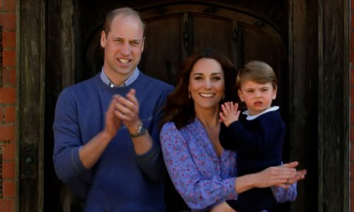 Kate Middleton's son Prince Louis' new photo has royal fans saying the same thing