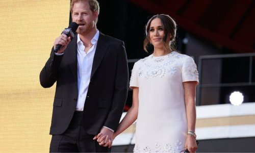 Meghan Markle stuns in white Valentino mini dress at Global Citizen Live event with Prince Harry