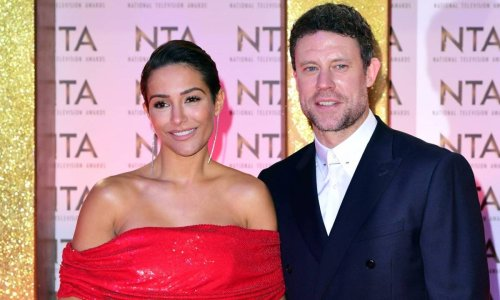 Frankie Bridge discusses third baby with husband Wayne – and his reaction is brilliant