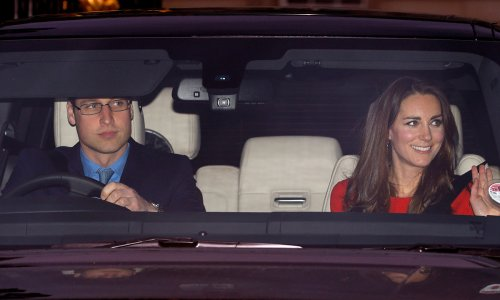 Prince William and Kate Middleton's Range Rover set to go up for auction