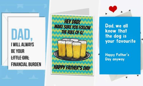 10 funny Father's Day cards day to give dad a giggle