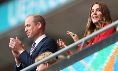 Kate Middleton's stylish nod to Diana at the Euros everyone missed