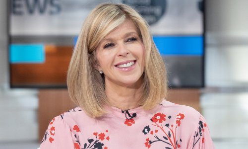 Kate Garraway's curve-hugging GMB outfit is too stunning for words