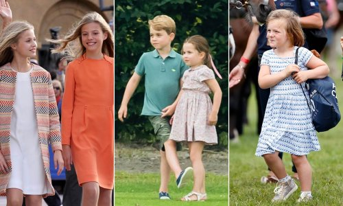 Royal children's favourite hobbies revealed: George, Charlotte, Louis and more