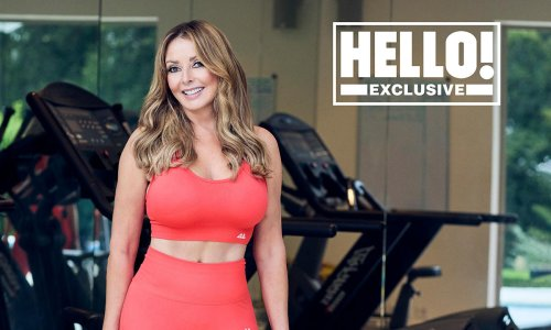 Carol Vorderman shares cheeky derriere picture leaving fans speechless
