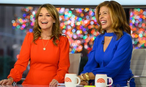 Savannah Guthrie shares excitement over news on Today show