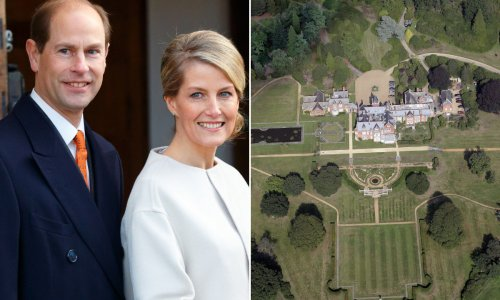 Prince Edward and Sophie Wessex's jaw-dropping interiors that took over 17,000 hours