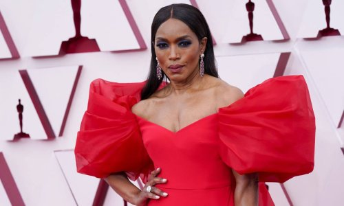 Ageless Angela Bassett wows in the figure-flattering jumpsuit of our dreams