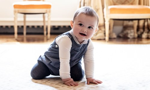 Prince Charles of Luxembourg's first birthday photos are just the cutest