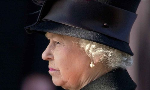 The Queen pictured for the first time since her husband Prince Philip's death