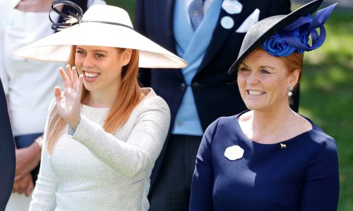 Princess Beatrice's wedding dress inspired by mum Sarah Ferguson?