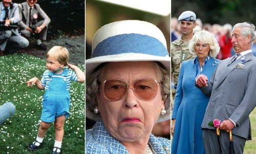 11 hilarious photos of royals at home, from Prince Harry to Prince Charles