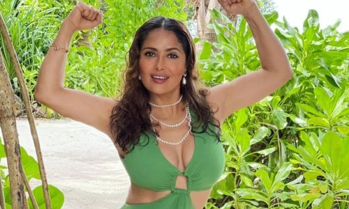 Salma Hayek is unrecognisable after unexpected makeover