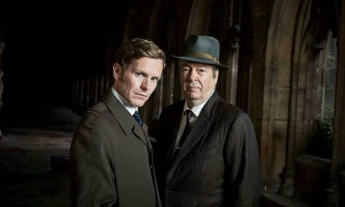 Endeavour shares first snap of Shaun Evans from season eight