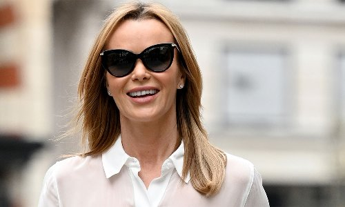 Amanda Holden reveals exciting new project - and gorgeous tuxedo dress