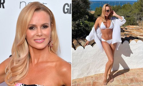 Amanda Holden reveals how she offsets alcohol to stay in shape