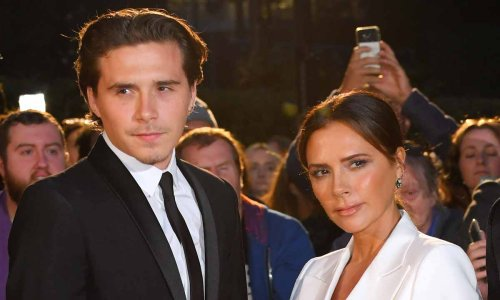 Victoria Beckham revealed she is missing her eldest son Brooklyn in the sweetest way