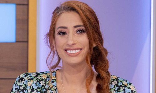 Stacey Solomon wows in floral mini dress after announcing pregnancy