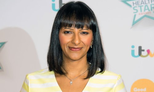 Ranvir Singh looks stunning in flirty M&S dress - and it's still available!