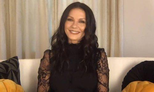 Catherine Zeta-Jones surprises with 'scary' video inside vacation garden in Majorca