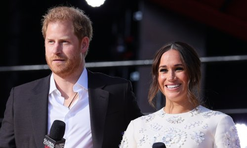 Meghan Markle stuns in white mini dress at Global Citizen Live event with Prince Harry