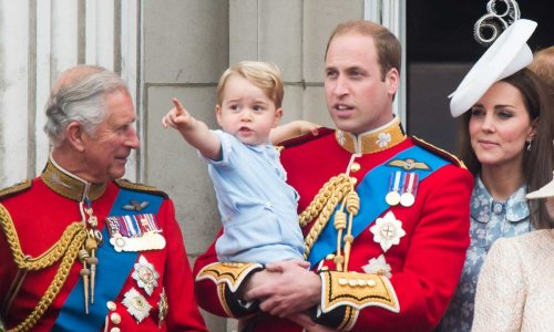 Prince Charles has the sweetest picture of Prince George on display at home