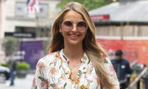 Vogue Williams stuns fans in leg-baring shorts – and wow