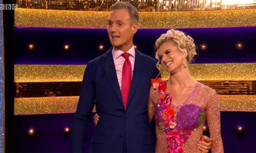 Strictly's Dan Walker pays emotional tribute to wife