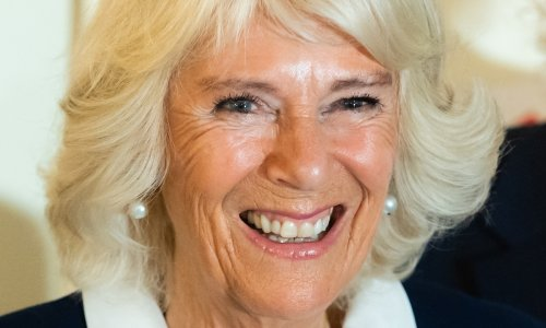 Duchess Camilla glows in chic monochrome outfit for important engagement - and fans love her look