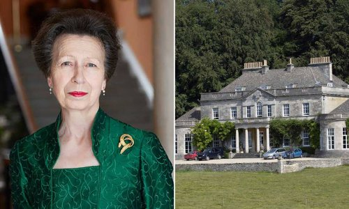 Princess Anne's palatial home is surprisingly cosy – inside