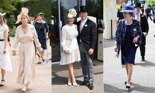 Zara Tindall, Princess Anne and Duchess Camilla step out for day one of Royal Ascot - live updates