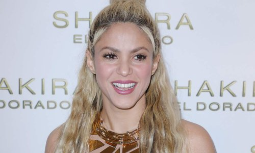 Shakira displays never-ending legs in mini skirt to celebrate incredible news