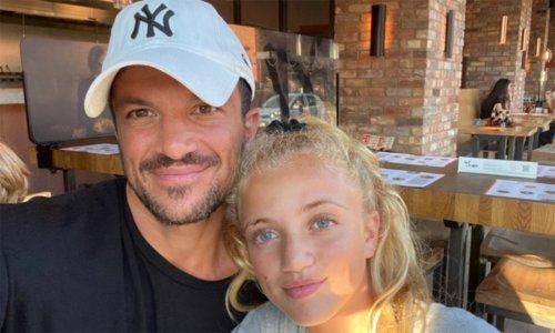 Peter Andre's daughter Princess sends heartfelt message to terminally ill Nan