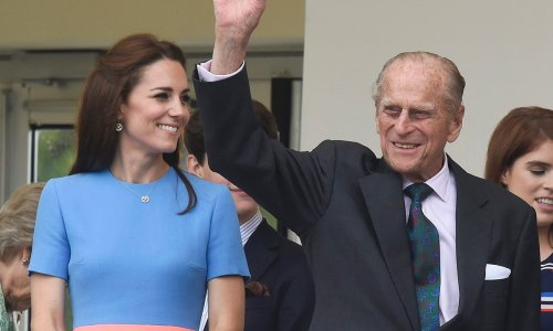 Kate Middleton had a special connection to Prince Philip long before royal wedding