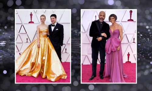 7 of the most stylish couples on the Oscars 2021 red carpet