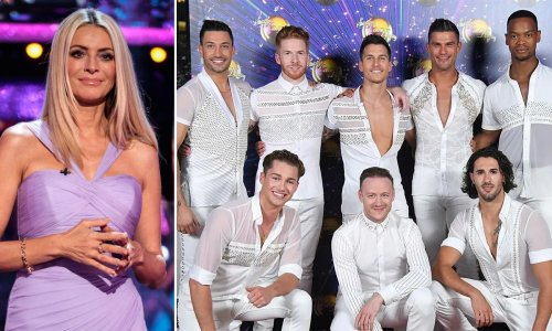 Strictly's male dancers have the most incredible wardrobe trick - Tess Daly shares all