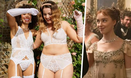 Lovehoney has launched a Bridgerton-inspired lingerie collection for brides