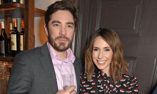 Alex Jones and husband celebrate romantic 'first' on his birthday