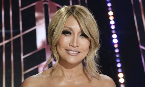 Carrie Ann Inaba brings some figure-hugging sparkle to Dancing With the Stars premiere