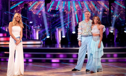 Strictly star Karen Hauer breaks silence following exit with Greg Wise